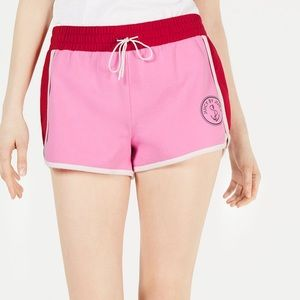 Juicy couture colorblocked terry cloth shorts